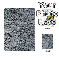 Rough Grey Stone Multi Purpose Cards (rectangle)
