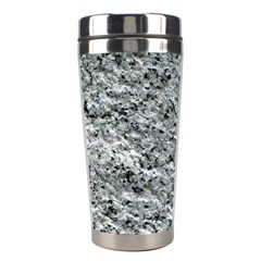 ROUGH GREY STONE Stainless Steel Travel Tumblers