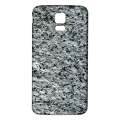 ROUGH GREY STONE Samsung Galaxy S5 Back Case (White)