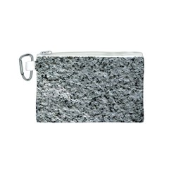 ROUGH GREY STONE Canvas Cosmetic Bag (S)