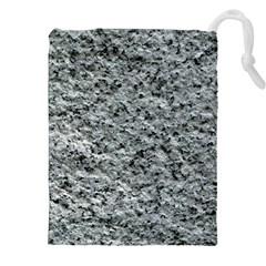Rough Grey Stone Drawstring Pouches (xxl)