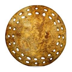 Rosia Montana Round Filigree Ornament (2side)