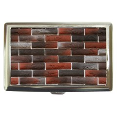 RED AND BLACK BRICK WALL Cigarette Money Cases