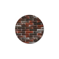 RED AND BLACK BRICK WALL Golf Ball Marker (10 pack)