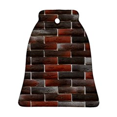 Red And Black Brick Wall Ornament (bell)
