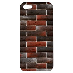 Red And Black Brick Wall Apple Iphone 5 Hardshell Case