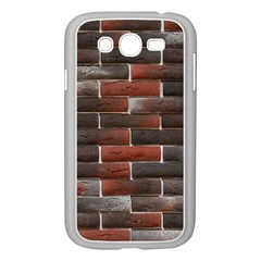 RED AND BLACK BRICK WALL Samsung Galaxy Grand DUOS I9082 Case (White)