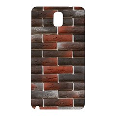 RED AND BLACK BRICK WALL Samsung Galaxy Note 3 N9005 Hardshell Back Case