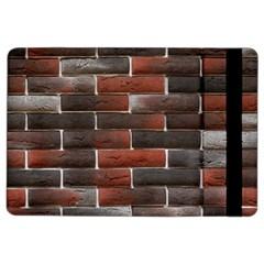 RED AND BLACK BRICK WALL iPad Air 2 Flip