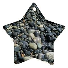 Pebbles Ornament (star)