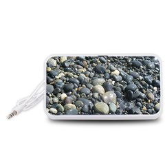 PEBBLES Portable Speaker (White)