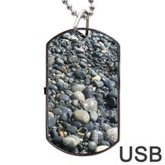 PEBBLES Dog Tag USB Flash (Two Sides)