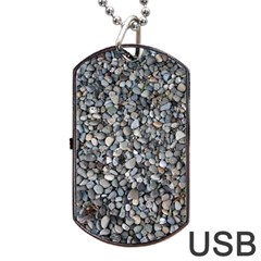 PEBBLE BEACH Dog Tag USB Flash (One Side)