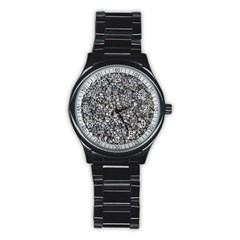 PEBBLE BEACH Stainless Steel Round Watches