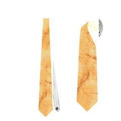 Marble Light Tan Neckties (one Side)