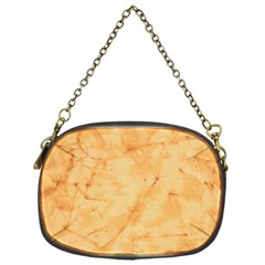 MARBLE LIGHT TAN Chain Purses (One Side)