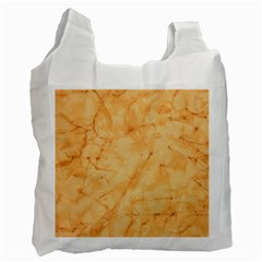 MARBLE LIGHT TAN Recycle Bag (Two Side)