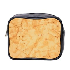 MARBLE LIGHT TAN Mini Toiletries Bag 2-Side