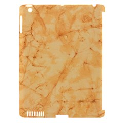 MARBLE LIGHT TAN Apple iPad 3/4 Hardshell Case (Compatible with Smart Cover)