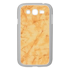 MARBLE LIGHT TAN Samsung Galaxy Grand DUOS I9082 Case (White)