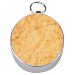 MARBLE LIGHT TAN Silver Compasses