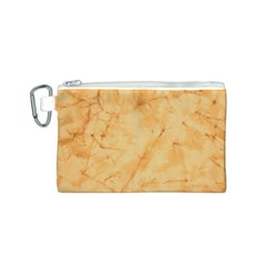 MARBLE LIGHT TAN Canvas Cosmetic Bag (S)