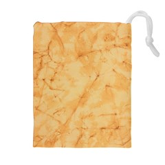 Marble Light Tan Drawstring Pouches (extra Large)