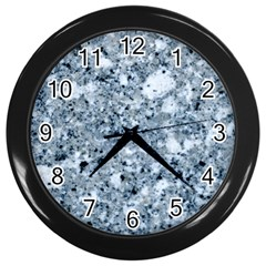 MARBLE LIGHT GREY Wall Clocks (Black)