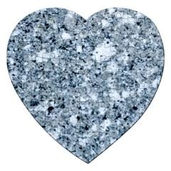 MARBLE LIGHT GREY Jigsaw Puzzle (Heart)