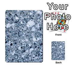 Marble Light Grey Multi Purpose Cards (rectangle)