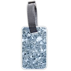 MARBLE LIGHT GREY Luggage Tags (One Side)