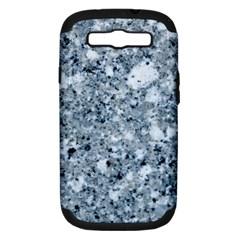 MARBLE LIGHT GREY Samsung Galaxy S III Hardshell Case (PC+Silicone)
