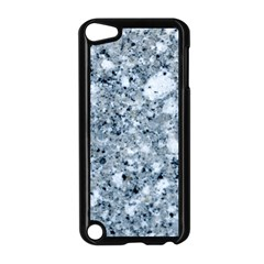 MARBLE LIGHT GREY Apple iPod Touch 5 Case (Black)