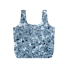 MARBLE LIGHT GREY Full Print Recycle Bags (S)