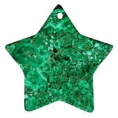 MARBLE GREEN Ornament (Star)