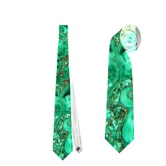 MARBLE GREEN Neckties (One Side)
