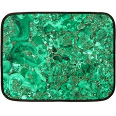 Marble Green Fleece Blanket (mini)