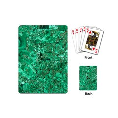 MARBLE GREEN Playing Cards (Mini)