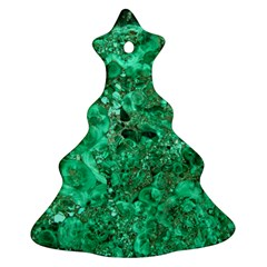 Marble Green Ornament (christmas Tree)