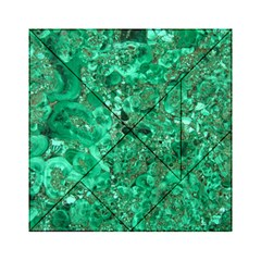MARBLE GREEN Acrylic Tangram Puzzle (6  x 6 )