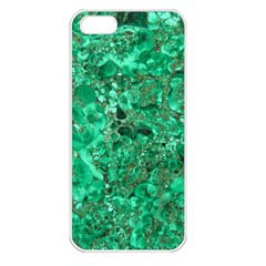 MARBLE GREEN Apple iPhone 5 Seamless Case (White)