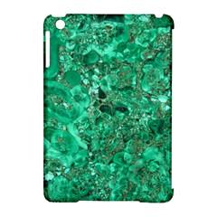 Marble Green Apple Ipad Mini Hardshell Case (compatible With Smart Cover)