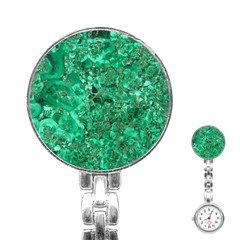MARBLE GREEN Stainless Steel Nurses Watches