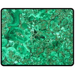 Marble Green Double Sided Fleece Blanket (medium)