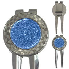 MARBLE BLUE 3-in-1 Golf Divots