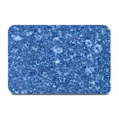 Marble Blue Plate Mats