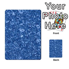 Marble Blue Multi Purpose Cards (rectangle)