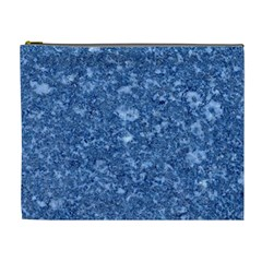 MARBLE BLUE Cosmetic Bag (XL)