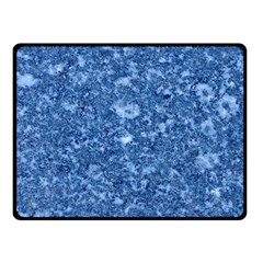 Marble Blue Fleece Blanket (small)