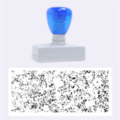 MARBLE BLUE Rubber Stamps (Large)